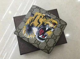 Wholesale Male Clutches - Hot sale! brand men short Wallet, classic fashion male patchwork purse with coin pocket &card holder with gift box
