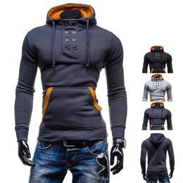 Wholesale Designer Fashion Hoodies - Wholesale- Hot Sale Winter Autumn New Designer Hoodies Men Fashion Brand Pullover Sportswear Sweatshirt Men's Tracksuits Assassins Creed