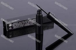 Wholesale Eye Pencil Wholesale Price - Free shipping Hot Brand Liquid Eyeliner Black Waterproof Lasting Eye Liner Pencil Make Up Beauty Comestics Wholesale Cheap Price