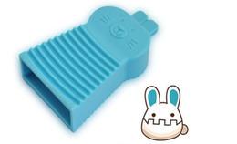 outils de vêtement Promotion Couleur de bonbon PVC outil de ménage de brosse à linge ménage Mini planche à laver de poche des vêtements de lapin mignon nettoyage des outils