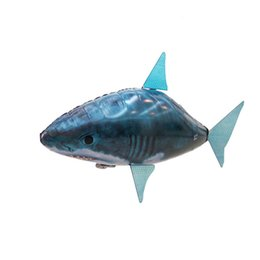 Wholesale Toys Robot Shark - Hot sale RC fish toys drone RC Shark Clown fish balloons Nemo inflatable with helium fish plane kids toys RC helicopter