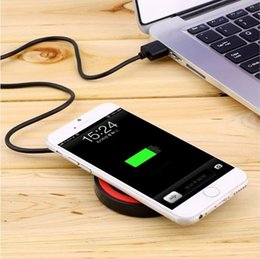 Wholesale Huawei Pads - Multicolor Wireless Charging Adapter Qi Wireless Charging Pad for Samsung Galaxy S5 S6 S7 S8 Edge IPhone 7 6 6Plus Huawei Xiaomi WXQ5