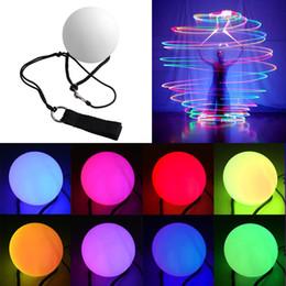 Puntine a mano a LED da donna con palline poi lanciate per accessori a mano danza del ventre puntelli aoto colo da