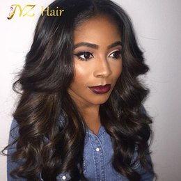 Wholesale Small Cap Wigs - JYZ Human Hair Full Lace Wigs Lace Front Wig Loose Wave Glueless Cap With Combs And Adjustable Straps Swiss Lace Wig