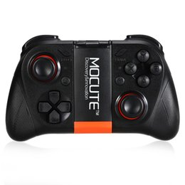 Wholesale Tablet Pc 3d Games - DHL MOCUTE Wireless Gamepad Bluetooth 3.0 Game Controller Joystick for Iphone and Android Phone Tablet PC Laptop and VR 3D Glasses
