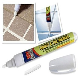 Wholesale Grout Tile Marker - 20Pcs Grout Aide Repair Tile Marker Wall Pen For Repair Ceramic Tile Accessories