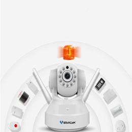 Wholesale Camera Security Alarm Systems - C37-AR Wireless HD Alarm IP Security Camera WiFi Two Way Audio Recording Infrared Add Door PIR Sensor CCTV Alarm System ANN