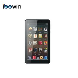 Wholesale Tablet 1gb Ram Gsm - Wholesale- ibowin Quad core 3G Phone Call 7Inch Tablet PC 3G WCDMA 2G GSM Call GPS Bluetooth Android 5.1OS1024x600 IPS 1G RAM 8G ROM M710