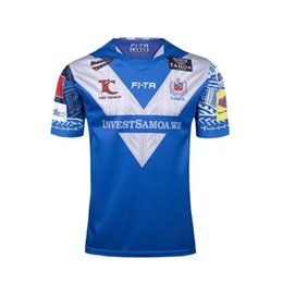 Wholesale Irish Rugby Shirt - SAMOA RUGBY 2017 18 JERSEY Irish Leinster jerseys 2017-2018 SAMOA RUGBY JERSEY New Zealand WARATAHS Rugby jersey shirt S-3XL