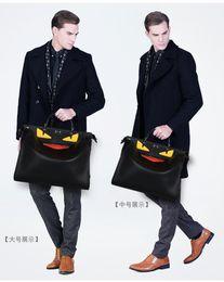 Wholesale Top Brand Men Business Bag - monster bags handbags women men famous brand top-handle bag luxury designer Business laptop bag women shoulder crossbody bolsas 2017 bag