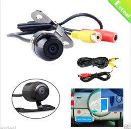 Wholesale Night Vision Mini Reverse Camera - 2017 New Mini 12V Color CCD Reverse Backup Car Rear View Parking Camera Night Vision Wholesale