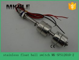 Wholesale Low cost V Tank Liquid Water Level Sensor Stainless Steel Float Switch MK SFS12010