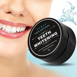 Wholesale Toothpaste Tools - Teeth Whitening Powder Nature Bamboo Activated Carbon Powder Decontamination Tooth Cleaning Toothpaste Oral Care Tools in Stock