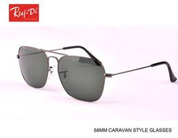 Wholesale Quality Eyeglasses - 2017 hot selling New Metal Brand Eyeglasses Mens Womens High Quality gafas caravan Designer Sun glasses with logo Case