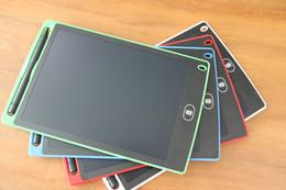 2019 sottile compressa bianca Tavoletta LCD per scrittura digitale Tavoletta digitale per tablet da 8 pollici con disegno a mano Tavoletta elettronica da tavolo per adulti Bambini Bambini