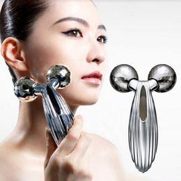 Wholesale Microcurrent Face - Updated Version Solar Refa Carat 3D Refa Face Roller Microcurrent Two Rollers Face Skin Care Massager Face Roller