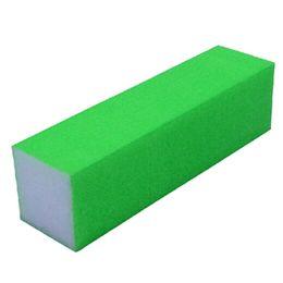 Wholesale Sponge Buffer Sanding Block - Wholesale- New Arrival 1Pcs Simple Portable Nail Art Buffer Files Colorful Sanding Block Sponge Manicure Nail Art Beauty Tools Color Random