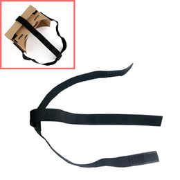 Картон google онлайн-Wholesale- 2016 HOT SALE DIY Head Mount Strap For Google Cardboard vr Virtual Reality 3D Glasses NICE