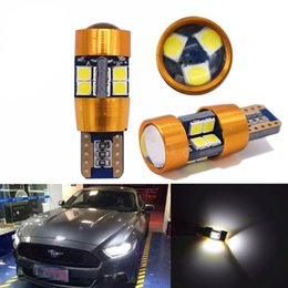 Wholesale Led Car Lights 194 - T10 led 19 SMD 3030 LED W5W 194 2825 168 501 canbus White Auto Wedge Lamp Car Marker Light Dome Reading Bulb 12V