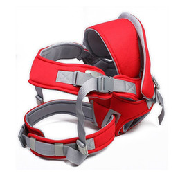 Wholesale Baby Carrier Hip Seat - Baby Carrier Popular Infant Sling Wrap Shoulders Front & Back Pack Hold Waist Belt Kids Stool Multifunctional Hip Seat BB0005