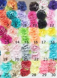 Roupas yiwu on-line-Flor artificial da chiffon YIWU da forma para a decoração da roupa das mulheres