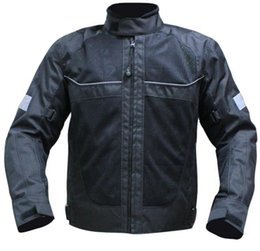 suppliers-suppliers Canada - Wholesale- motorcycle off-road motorcycle Ares automobile race clothing reflective jacket in the night flanchard summer