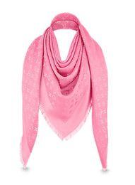 Foulards carrés pour femmes en Ligne-Femmes Nouvelle écharpe célèbre marque Cachemire coton foulards enveloppe châles de laine de soie carré Taille du dessin 140 * 140 cm Mode Pashmina Avec étiquette labl