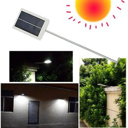 Wholesale Wholesale Solar Emergency Light - 15 LED Solar Lamp Solar Panel Power LED Street Garden Light Outdoor Path Wall Emergency Lamp Security Spot Light Luminaria