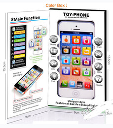 Wholesale English Learning Toy - Y Phone Toys New Learning & Education Kids Toys Y Phone 5 kids English Learning Machine Light Children Yphone Fun Toys without Data lines
