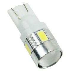 Wholesale Super Led Dome Light - T10 6 10 LED 5630 SMD Super White LED Upgrade Interior Map Dome Light W5w 168 192 194