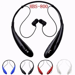 Wholesale Chinese Sports Wear Wholesale - HBS800 Sports Stereo Bluetooth Headphone Stereo Sound Upgrade Neck-Wear HBS 800 Wireless Bluetooth Earphone Factory Price