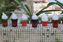 McDonald Cup Dabuccino Rig Coconut Tree Beach Maple Leaf Tazze Bicchiere da acqua Somking Pipes Oil Rig mini bong in vetro da