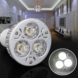 2019 3x3w dimmable mr16 led birnen Heiße Verkaufs-Einzelhandels-hohe Leistung 9W 3x3W Dimmable / nicht-dimmable Scheinwerfer GU10 / MR16 / E27 der Birnen-LED führte helle Lampe günstig 3x3w dimmable mr16 led birnen