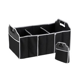 Wholesale Wire Cubes - Foldable Car Trunk Organizer Tools Toys Storage Bins Cubes Basket Bags Boxes Styling Automobiles Containers Accessories Supplies Products