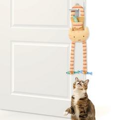 Wholesale Cat Tree Wholesaler - Cuddly Door Knob Dangler Cat Toy Doorknob Hanger Cat Doorknob
