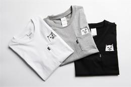 Wholesale Quality Formal Shirts - 2017 RIPNDIP T Shirt Sought After By Men Women Sale High Quality Cartoon Cat Printed Hip Hop Summer Cotton Tops tees S-XL