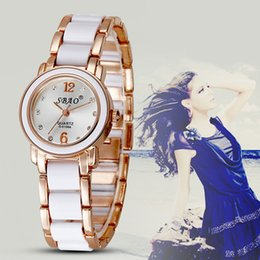 Wholesale Sbao Watches - SBAO New Top fashion Women Quartz High quility Dress Luxury Brand Watch crystal Fashion Casual Ladies Rhinestone Clock Montre Wristwatch