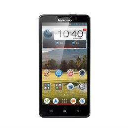 Wholesale Lenovo Unlock Cell Phone - Lenovo P780 5.0 inch Quad Core Phone 1G RAM 4G ROM Android 4.2 8.0MP Camera 3G Unlocked Cell Phones