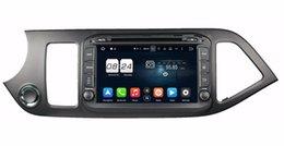"Wholesale Dvd Kia Picanto - Octa Core 2 din 8"" Android 6.0 Car DVD Car Audio DVD GPS for Kia Morning Picanto 2014 With 2GB RAM Radio BT WIFI 32GB ROM Mirror-link"