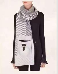Wholesale Mink Scarfs - (High quality custom) Mink cashmere scarf scarf laobiye small head ornaments fox fur scarf