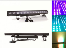 Wholesale dmx stage light bar - 14x30W LED DMX 2 3 5 8 42 44CH Wall Washer Lighting Bar LED Stage Pixel Light Party DJ Show Waterproof IP65 LLFA