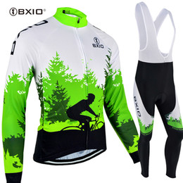 BXIO Own Brand Design Cycling Jersey Set Winter Fleece 3 Rear Pockets Bikes  Clothes Autumn Quick Dry Cycling Clothing BX-118 958e6c362