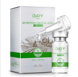 Wholesale Lotion Serum - Wholesale-QYANF Argireline Liquid Six Peptides Serum For Striae Anti-Wrinkle Cream Anti Aging Collagen Rejuvenating Face Lift Skin Care Face