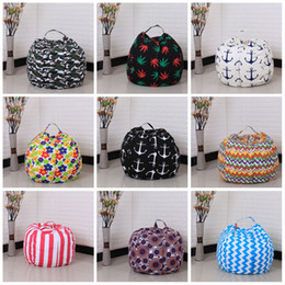 Wholesale Breast Hanging - Storage Bean Bag Chair Portable High Capacity Kids Clothes Toy Storages Bags For Many Styles 33cw C R