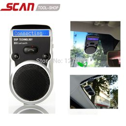 Wholesale Hands Free Cars - Wholesale-Solar Powered Bluetooth Car Kit LCD Display Caller ID Hands Free Bluetooth Speaker in Car Handsfree Calling