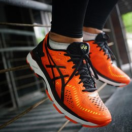 Wholesale New Style Flat Shoes - 2017 Wholesale Price New Style Asics Gel-kayano 23 Original Running Shoes For Men Sneakers Athletic Boots Sport Shoes Free Shipping