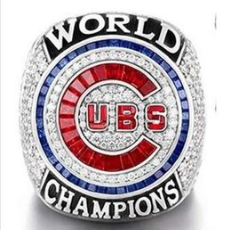 Wholesale ZOBRIST Chicago Cubs World Series Championship Ring Size8