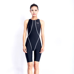 Wholesale Woman Swimwear Competition - 2017 Sale Professional One Piece Swimwear Women Swimsuit Sports Racing Competition Sexy Leotard Tight Bodybuilding Bathing Suit