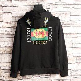 Wholesale Tiger 3d Sweatshirt Men - Brand new 3D Snake luxury Hoodies Black Blue White Gray Hoody Sweatshirts Kanye West Style Streetwear Men Hoodies Embroidery printing Tiger