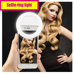 """Wholesale Universal Halo Lights - High class Selfie ring light with USB charger Long standby time """"Halo Effect"""" on the eyes yet not dazzling"""